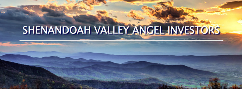 Shenandoah Valley Angel Investors website homepage