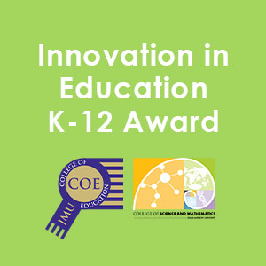 JMU COE's & CSM's Innovation in K-12 Education Award