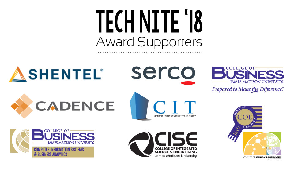 Tech Nite 18 Award Supporters