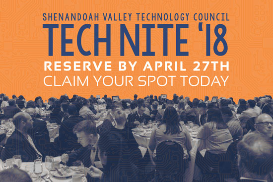 Tech Nite 18 Claim Spot Graphic