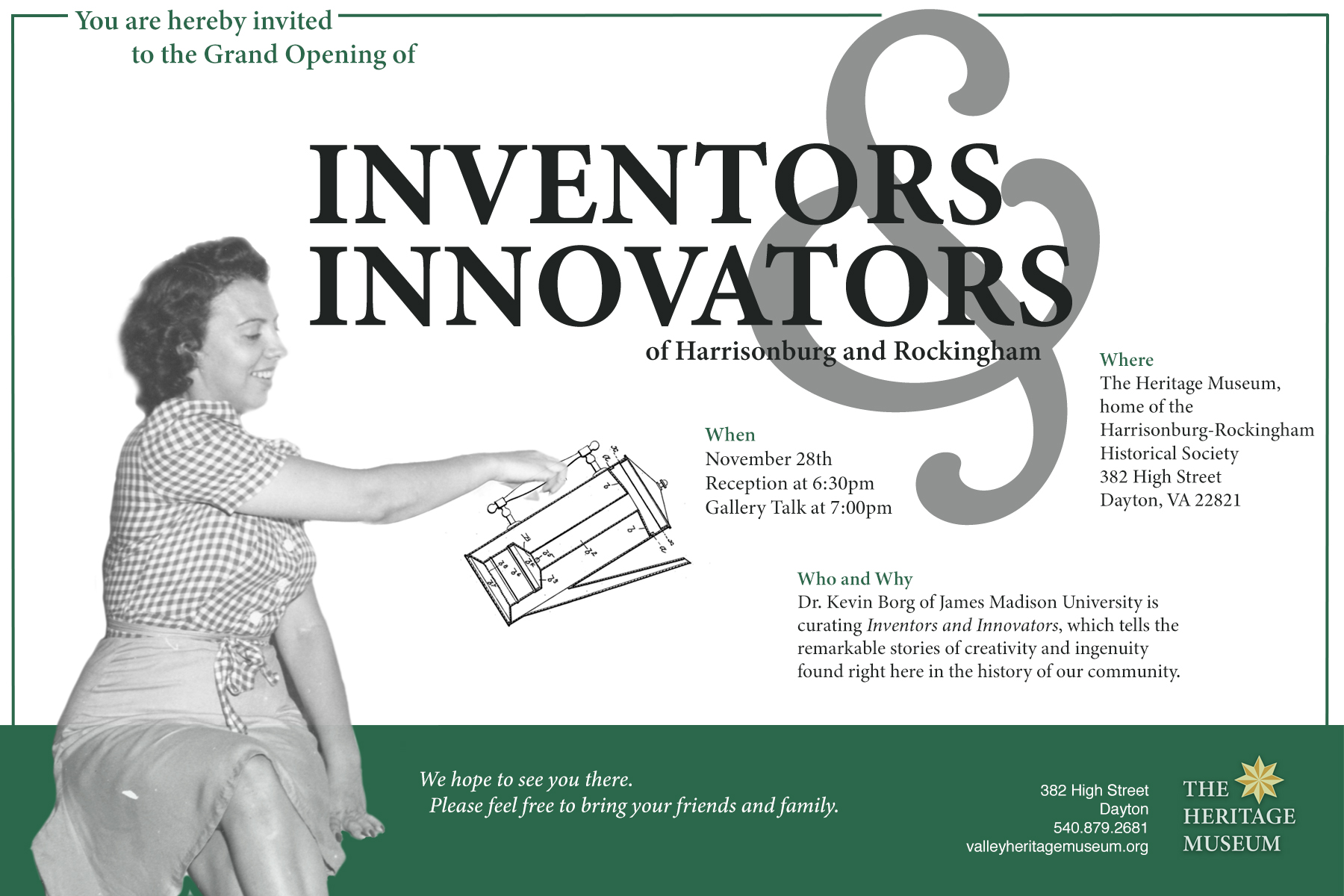 Inventors & Innovators Exhibit