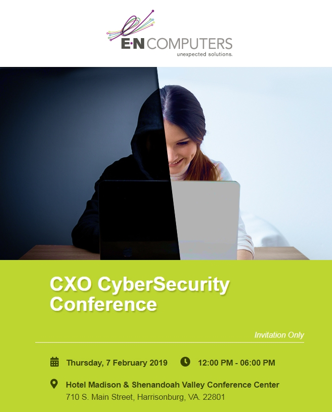 CXO CyberSecurity Conference Flyer