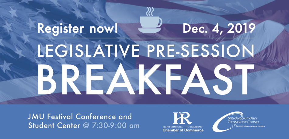 2019 Legislative Pre-Session Breakfast @ JMU Festival Conference & Student Center | Harrisonburg | Virginia | United States