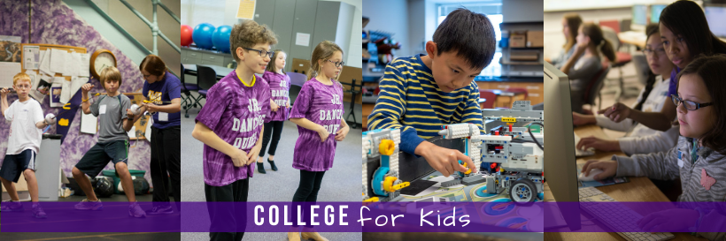 College for Kids Graphic