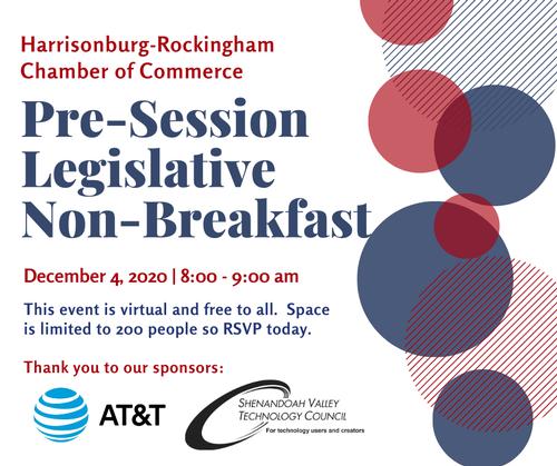 Pre-Session Legislative Breakfast Graphic
