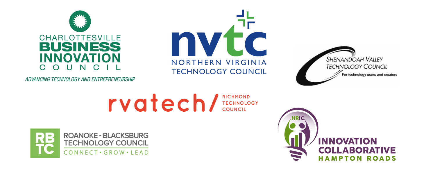 Virginia's tech councils logos