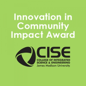 Innovation in Community Impact - CISE Graphic