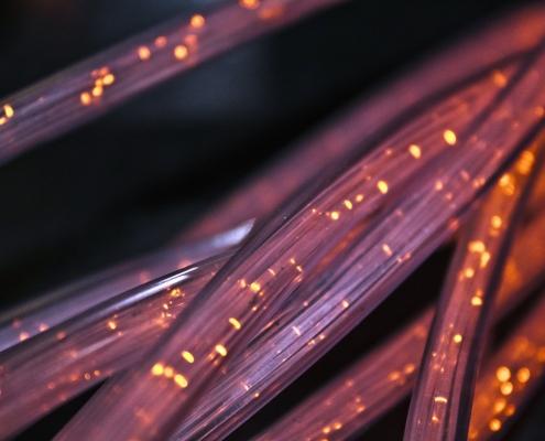 Broadband Coverage - Fiber Closeup