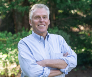 Intersection of Education and Virginia's Technology Future - Terry McAuliffe Headshot